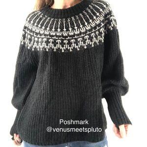 Universal Thread Sweater NEW Fair Aisle Cableknit